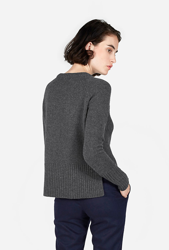 The Chunky Knit Cotton Crew